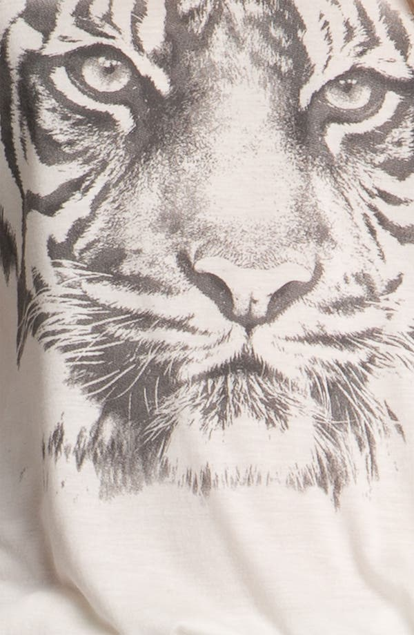 Alternate Image 6  - Haute Hippie Tiger Print Jersey Tee