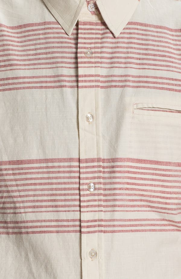 Alternate Image 3  - Ezekiel 'Jed' Stripe Short Sleeve Woven Shirt
