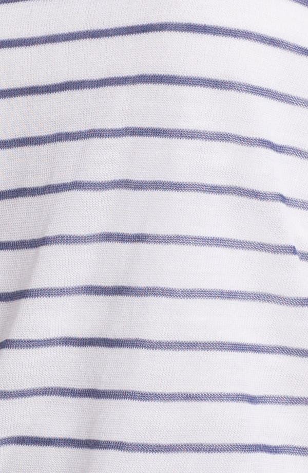 Alternate Image 3  - Shirt 469 Colorblock Stripe Sweater (Petite)