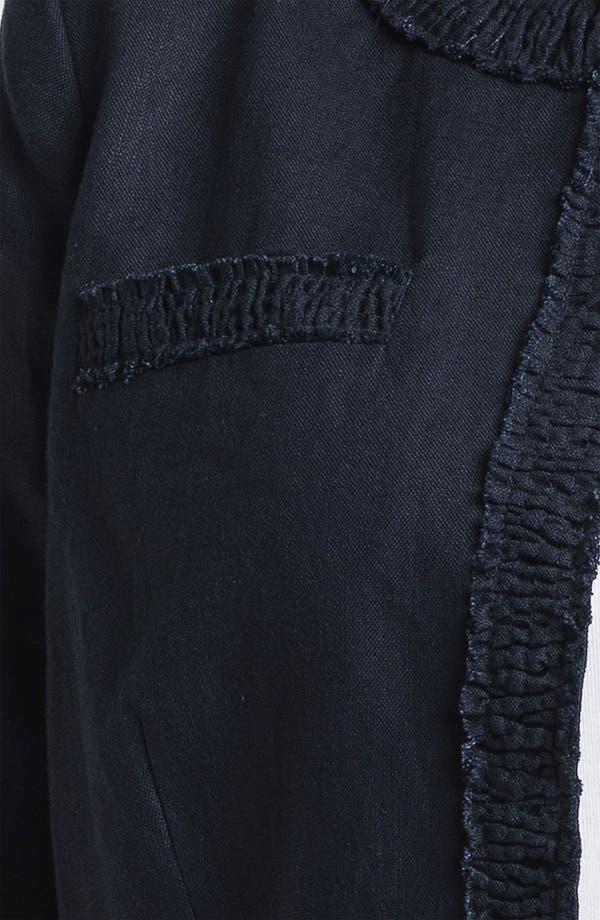 Alternate Image 3  - MICHAEL Michael Kors Linen Jacket (Plus)