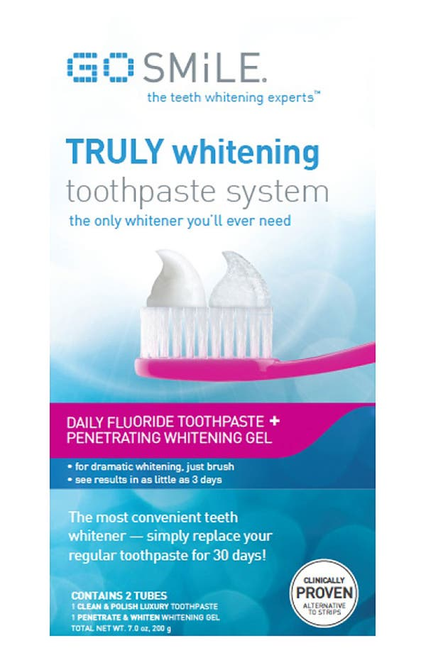 Alternate Image 2  - GO SMiLE® 'Truly Whitening™' Toothpaste System