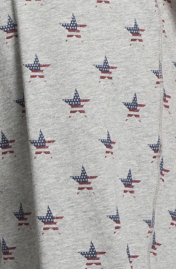 Alternate Image 3  - Topman 'Americana Star' Crop Sweatpants