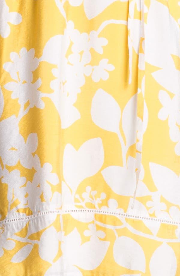 Alternate Image 3  - Adrianna Papell Floral Print Shirtdress