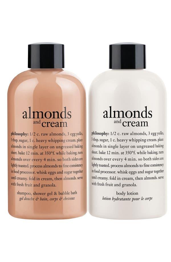 Alternate Image 2  - philosophy 'almonds & cream' duo