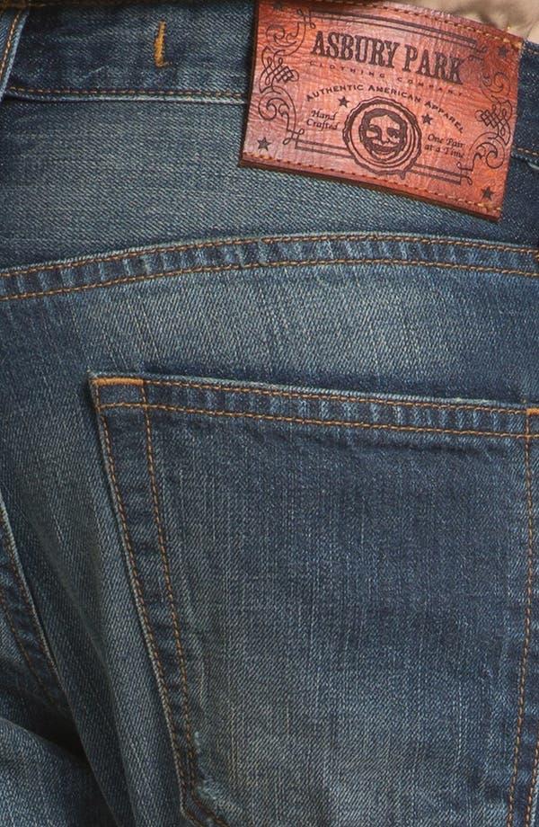 Alternate Image 4  - Asbury Park '1874 Monte Carlo' Straight Leg Selvedge Jeans (Harrison)