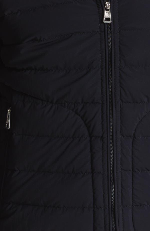 Alternate Image 3  - Moncler 'Acorus' Matte Down Moto Jacket