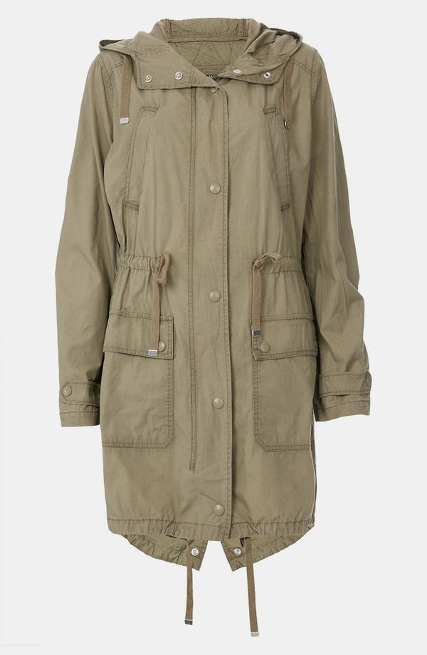Alternate Image 1 Selected - Topshop 'Jacob' Military Parka