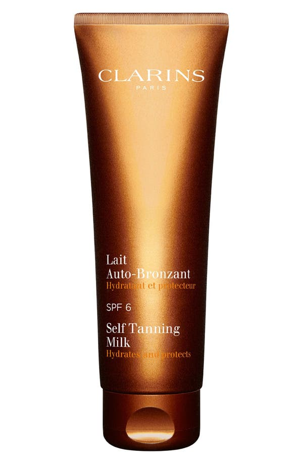 Alternate Image 1 Selected - Clarins Self Tanning Milk SPF 6