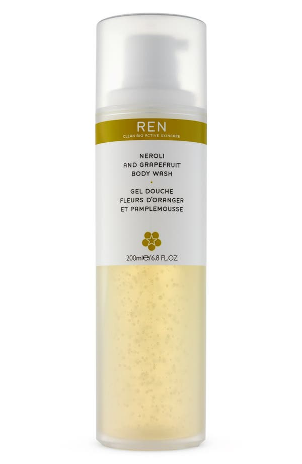Alternate Image 1 Selected - REN 'Neroli & Grapefruit' Body Wash