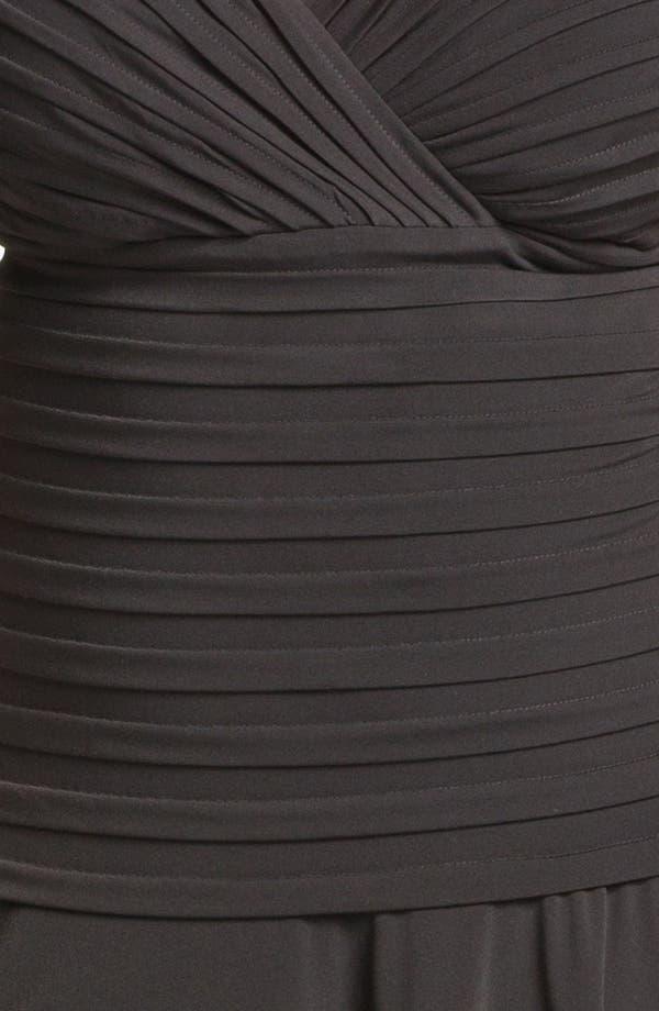 Alternate Image 3  - London Times Drop Waist Jersey Dress (Plus)