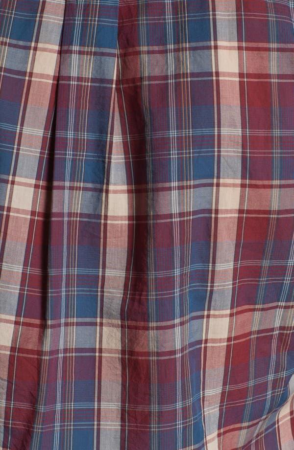 Alternate Image 3  - Todd Snyder Plaid Cotton Sport Shirt