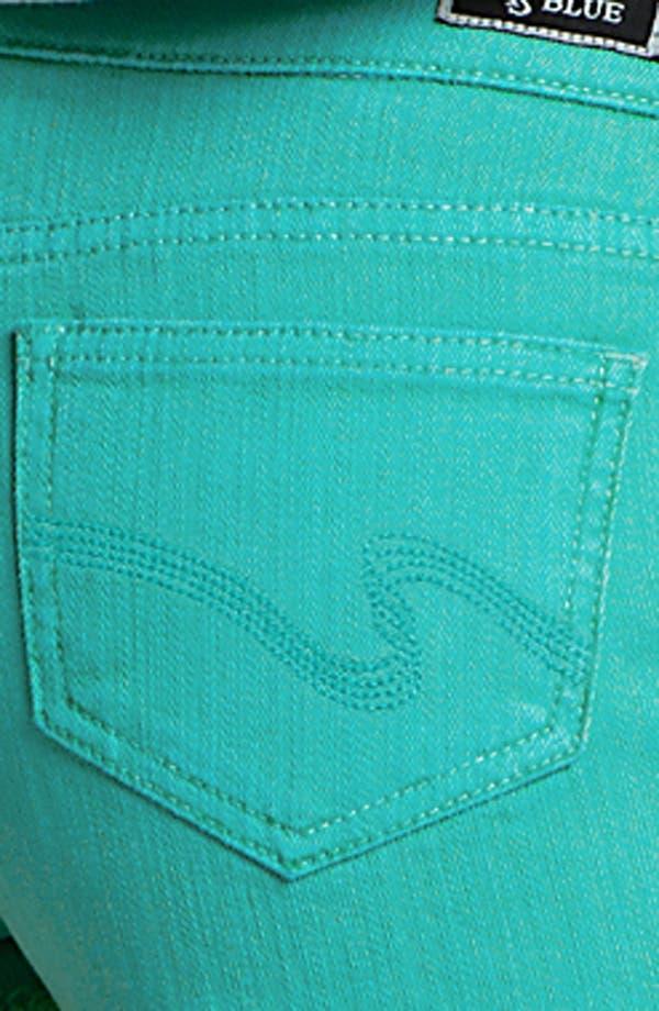 Alternate Image 3  - STS Blue High Waist Cutoff Denim Shorts (Juniors)