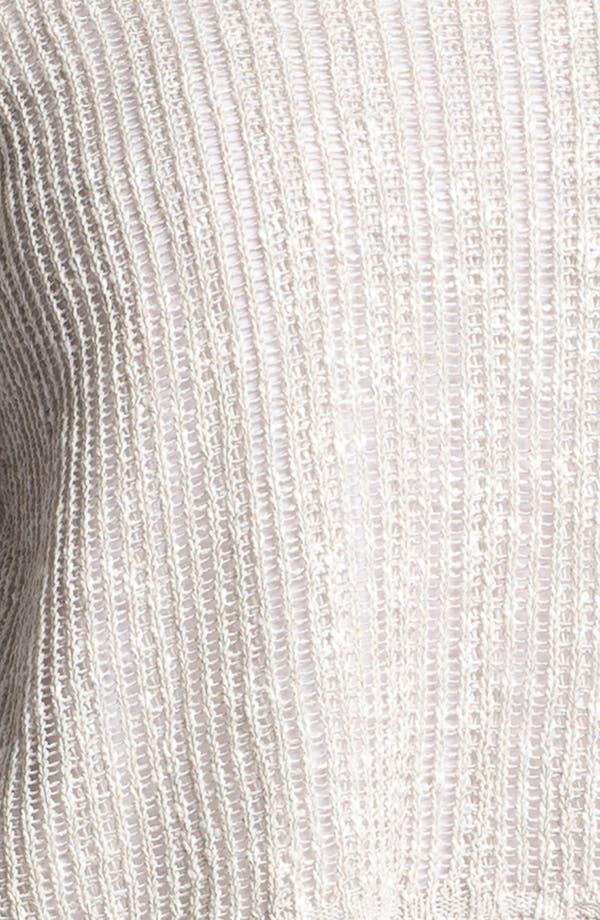 Alternate Image 3  - Eileen Fisher Ballet Neck Boxy Sweater