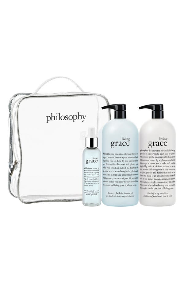 Alternate Image 1 Selected - philosophy 'living grace' set (Nordstrom Exclusive) ($144 Value)