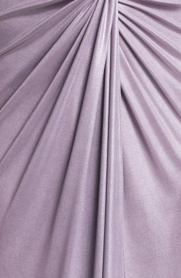 Alternate Image 3  - Patra Front Twist Jersey Gown
