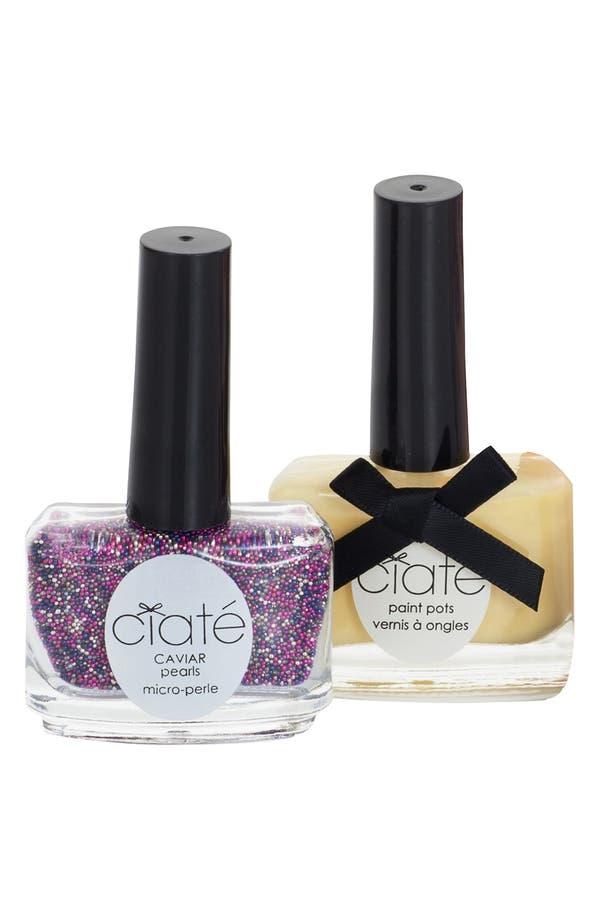 Alternate Image 1 Selected - Ciaté 'Caviar Manicure™ - Lemon Fizz' Set