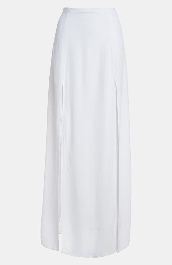 Alternate Image 1 Selected - BB Dakota Slit Maxi Skirt