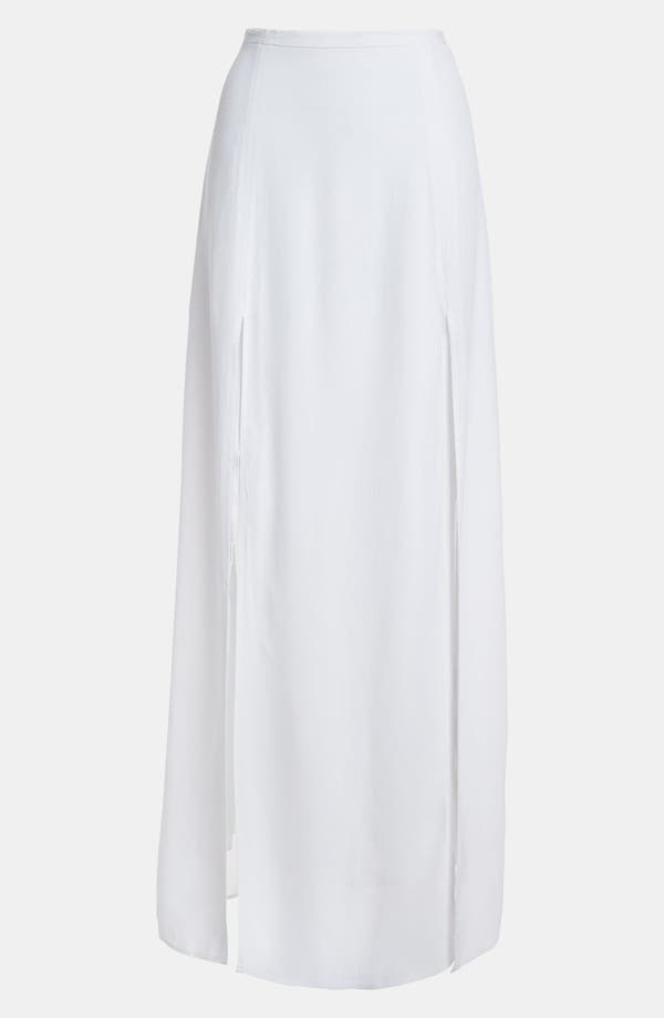 Main Image - BB Dakota Slit Maxi Skirt