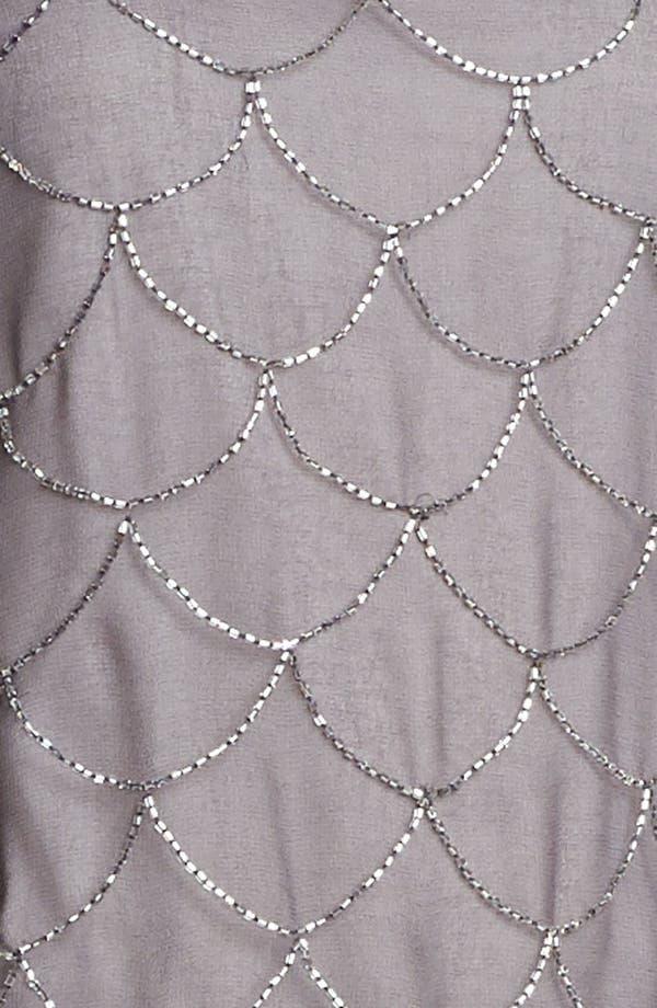 Alternate Image 3  - Adrianna Papell 'Fish Scale' Embellished Mesh Dress