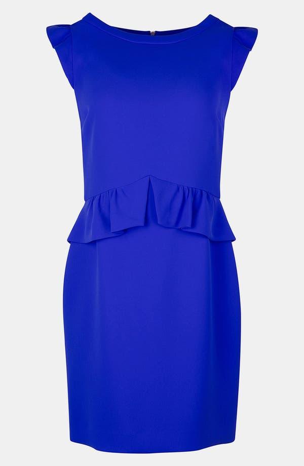 Alternate Image 1 Selected - sandro 'Resonance' Ruffle Sheath Dress