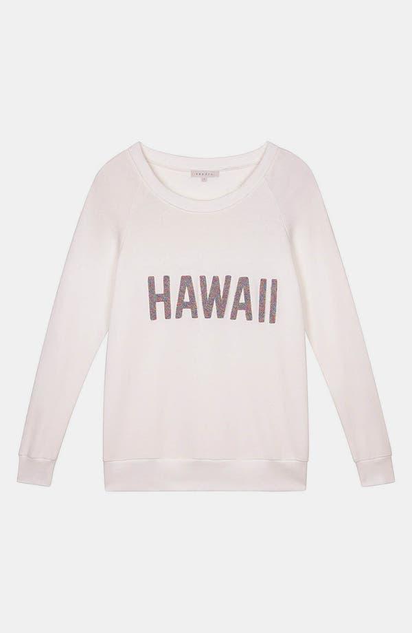 Alternate Image 1 Selected - sandro 'Tiare' Sweatshirt