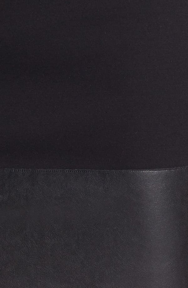 Alternate Image 3  - Bailey 44 'Mano a Mano' Faux Leather Trim Miniskirt