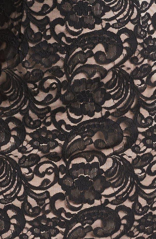 Alternate Image 3  - Xscape Lace Shift Dress (Plus Size)