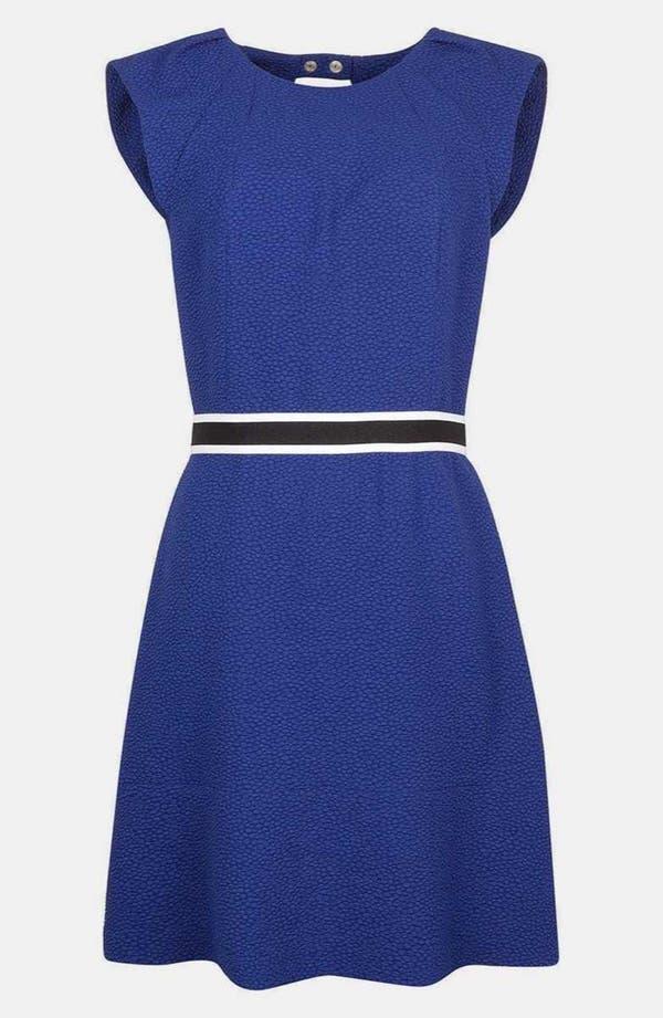 Main Image - sandro 'Ristretto' Crepe A-line Dress