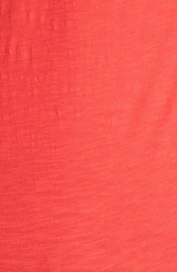 Alternate Image 3  - Lucky Brand 'Avani' Embellished Cotton Tee (Plus Size)