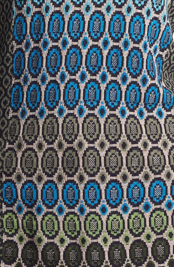 Alternate Image 4  - Nic + Zoe 'Geo Jacquard' Sweater