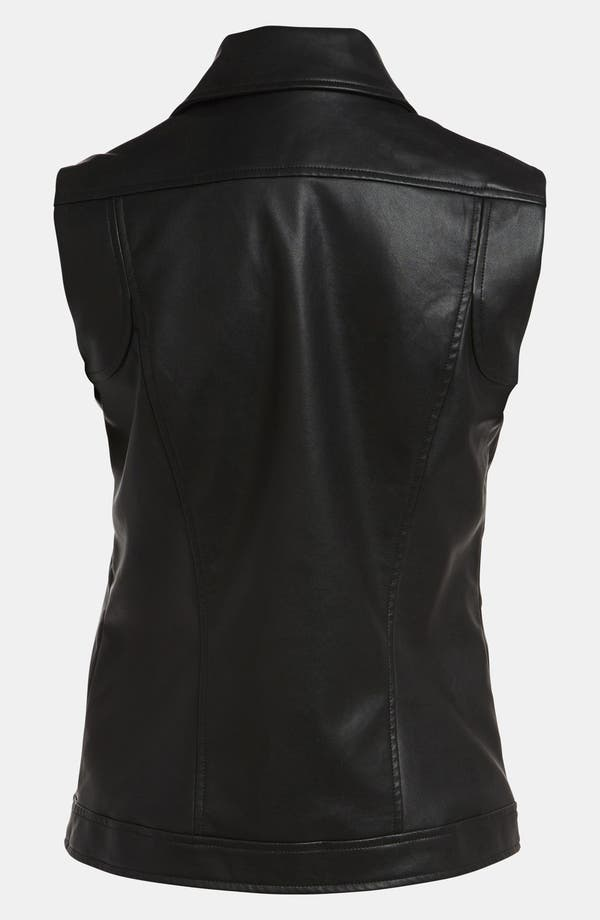 Alternate Image 3  - Mural Faux Leather Vest