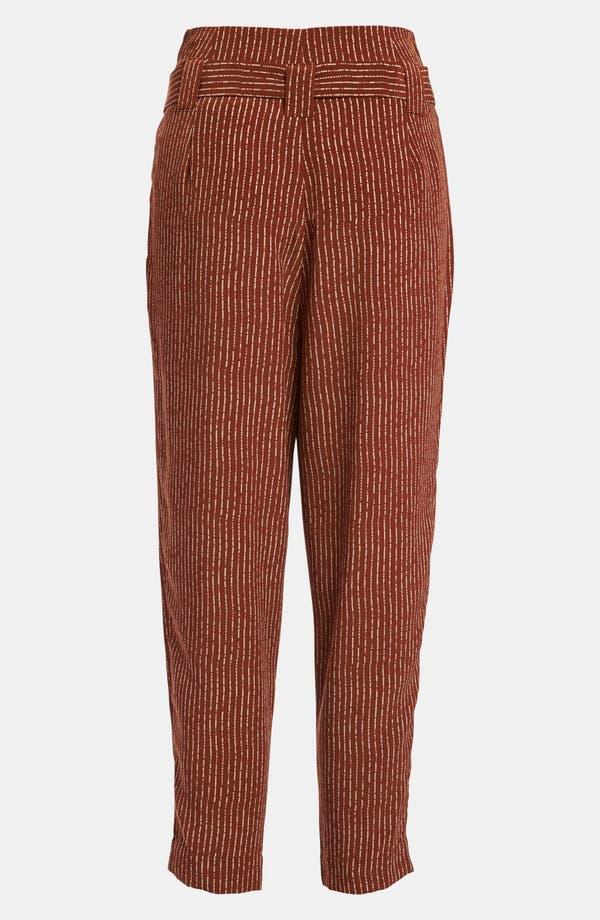 Alternate Image 2  - Viva Vena! High Waisted Pleat Ankle Pants