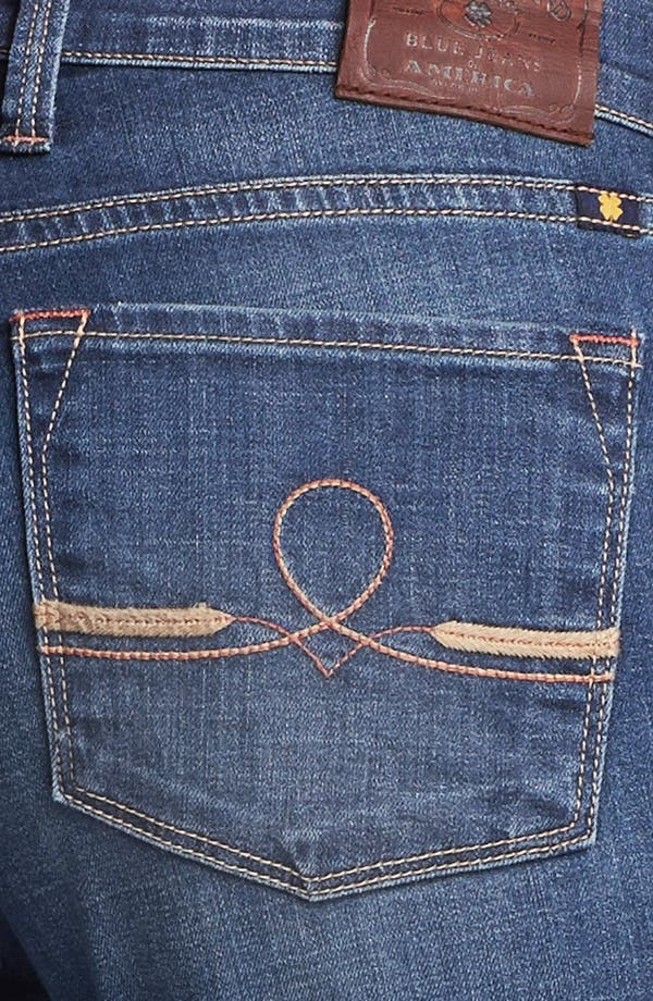 Alternate Image 3  - Lucky Brand 'Sofia' Bootcut Jeans (Medium Olive)