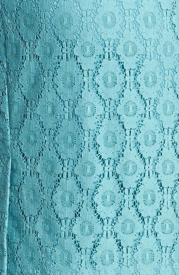 Alternate Image 3  - Adrianna Papell Cap Sleeve Lace Sheath Dress