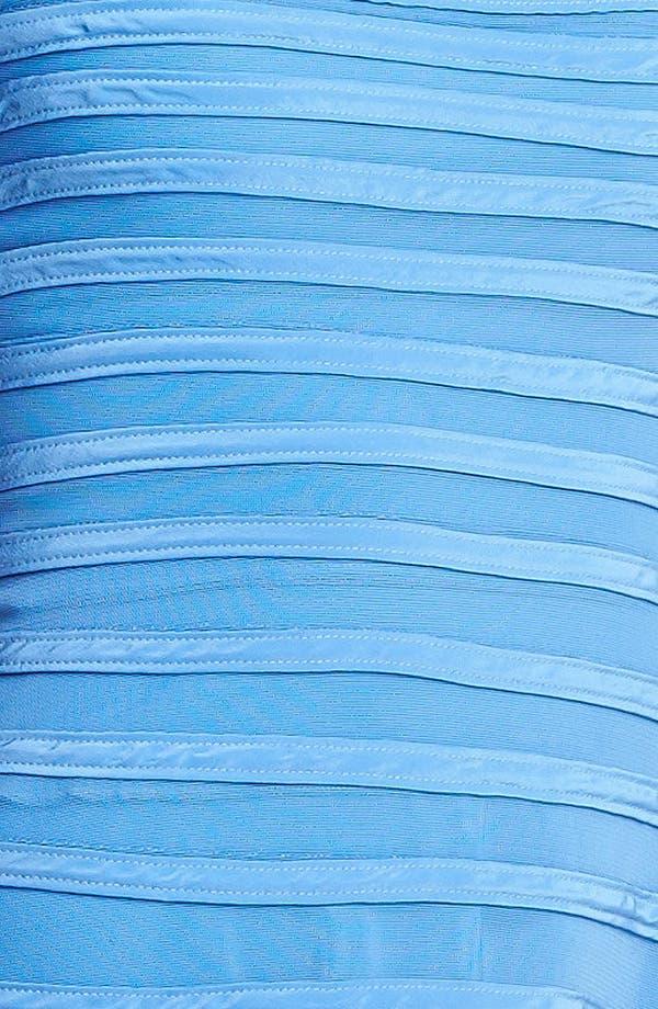 Alternate Image 3  - Halston Heritage Contrast Stripe Flare Dress