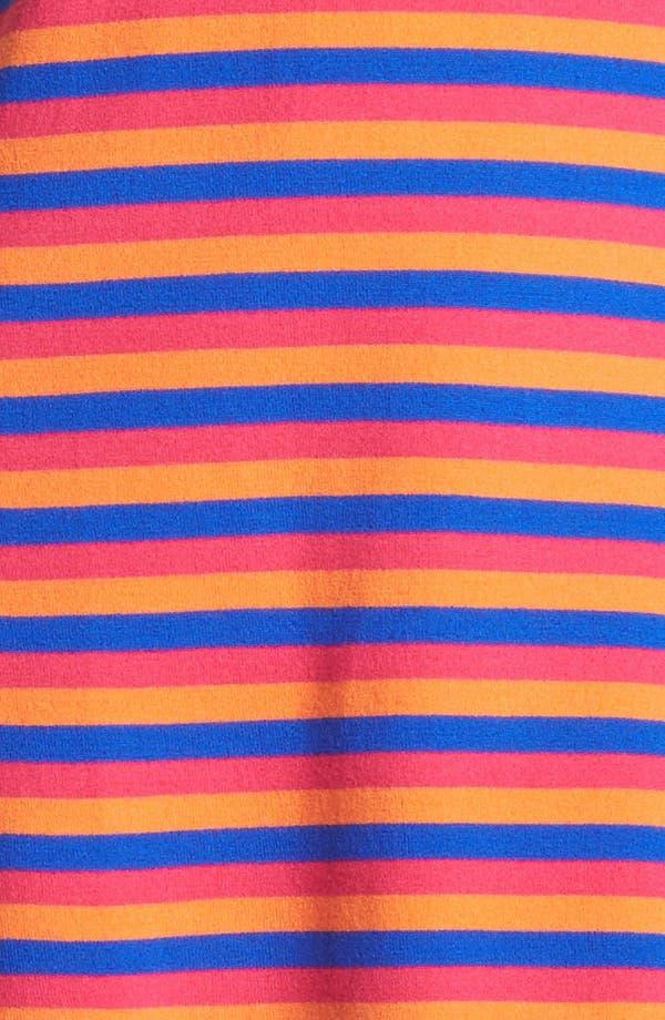 Alternate Image 3  - Miss Wu 'Kaki' Stripe Merino Wool Dress (Nordstrom Exclusive)