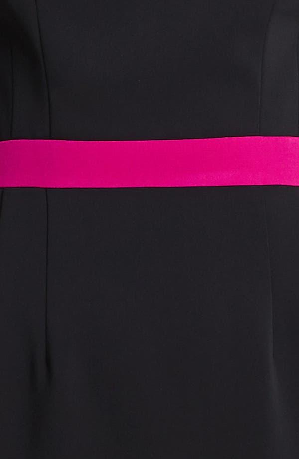 Alternate Image 3  - Jay Godfrey Contrast Trim Sheath Dress