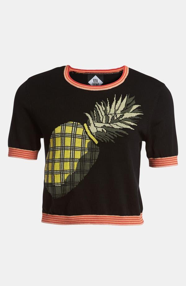 Alternate Image 1 Selected - Viva Vena! Pineapple Sweater