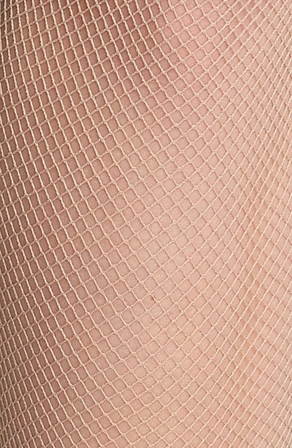 Alternate Image 2  - Oroblu Tricot Fishnet Tights