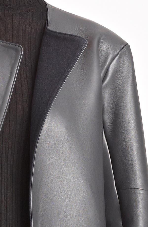 Alternate Image 3  - Jil Sander Long Leather Coat