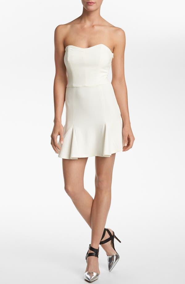 Main Image - Devlin Strapless Pleat Skirt Dress
