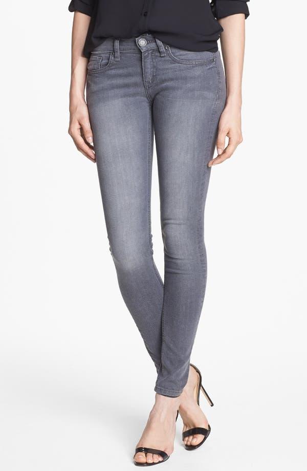 Alternate Image 1  - edyson 'Sloan' Skinny Jeans (Grey Wash)
