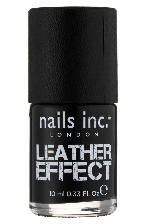 Alternate Image 1 Selected - nails inc. London 'Leather Effect' Nail Polish