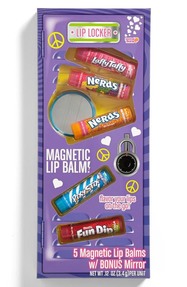 Alternate Image 1 Selected - Lotta Luv 'Lip Locker' Magnetic Lip Balm (Set of 5) (Girls)