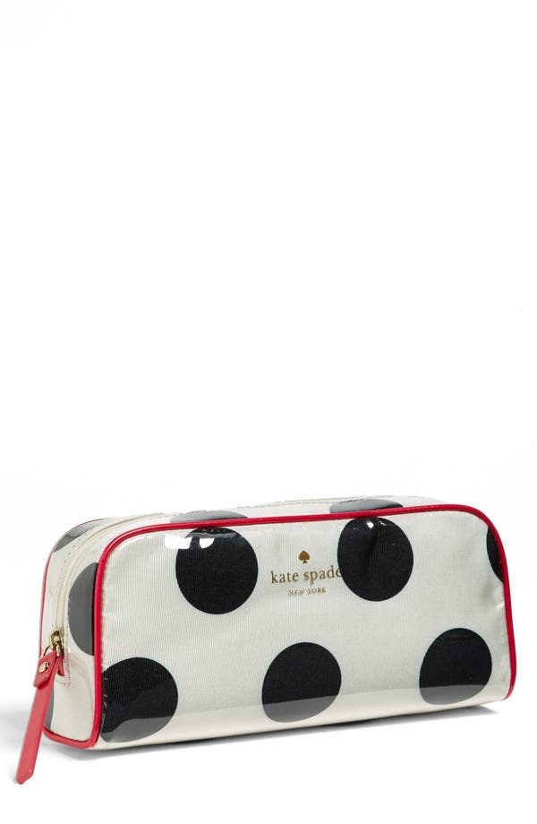 Main Image - kate spade new york 'la pavillion - small henrietta' cosmetics case