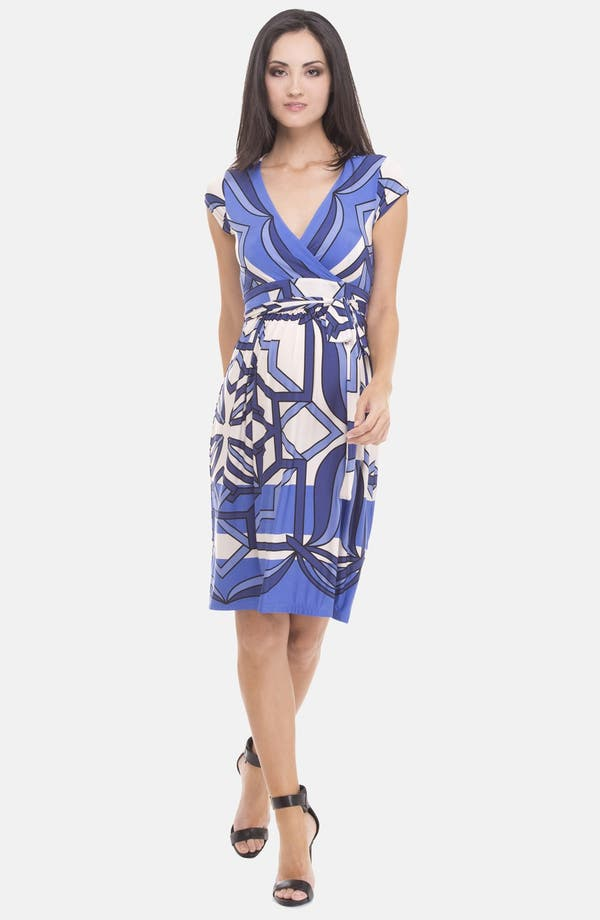 Alternate Image 3  - Olian Print Maternity Dress
