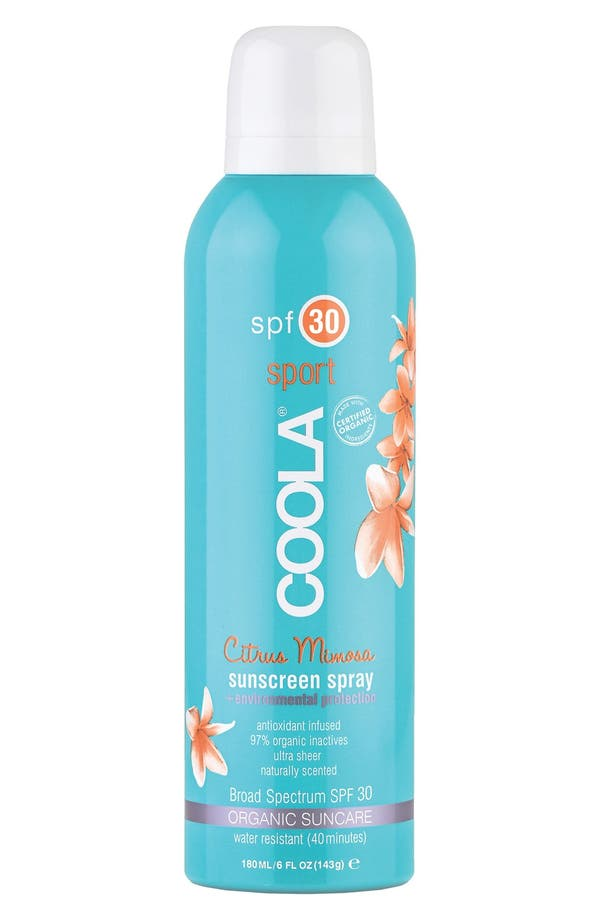 Main Image - COOLA® Suncare Sport Sunscreen Spray Broad Spectrum SPF 30