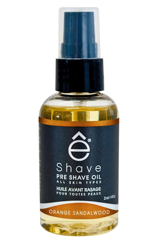 Main Image - eShave 'Orange Sandalwood' Pre Shave Oil