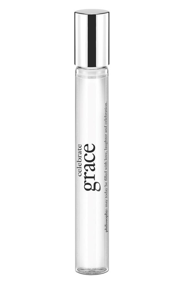 Alternate Image 1 Selected - philosophy 'celebrate grace' eau de toilette rollerball (Limited Edition)