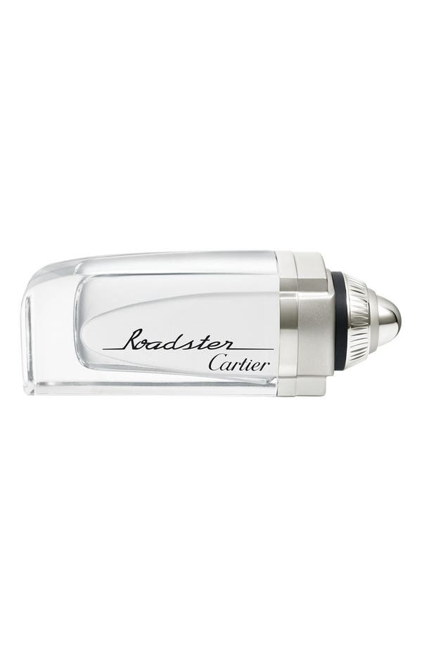 Alternate Image 1 Selected - Cartier 'Roadster' Eau de Toilette Natural Spray